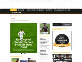 footballeveryday.co.uk screenshot