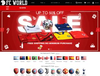 footballfangear.net screenshot