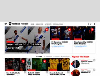 footballfashion.org screenshot