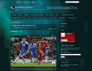 footballfest.wordpress.com screenshot