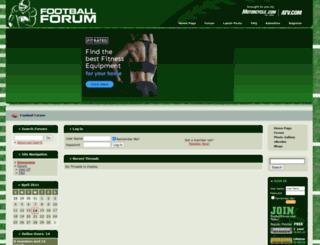 footballforum.com screenshot
