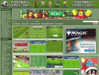 footballgamesonly.co.uk screenshot