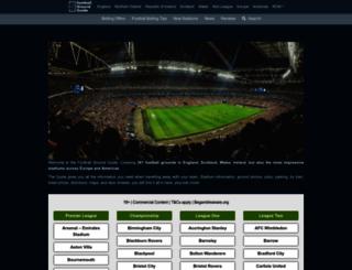 footballgroundguide.com screenshot