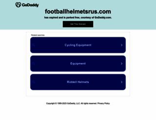 footballhelmetsrus.com screenshot
