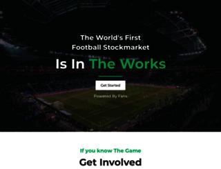 footballindex.com screenshot