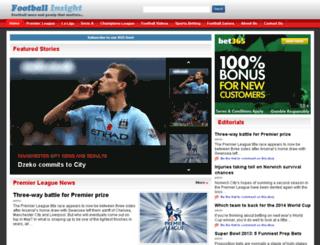 footballinsight.org screenshot