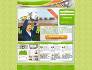footballmanager-online.co.uk screenshot