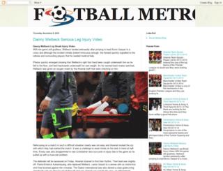 footballmetro.blogspot.com screenshot
