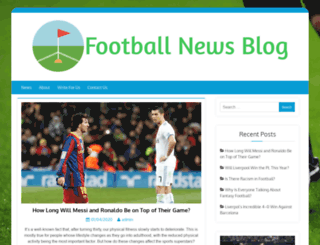 footballnewsblog.co.uk screenshot