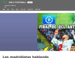 footballonly.sportsblog.com screenshot