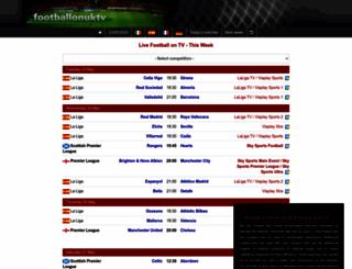 footballonuktv.com screenshot