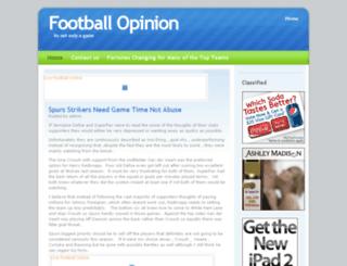 footballopinion.co.uk screenshot