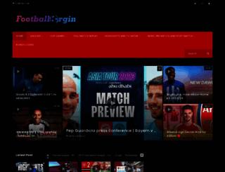 footballorgin.com screenshot