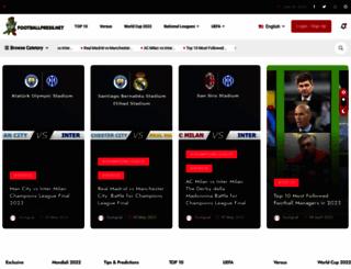 footballpress.net screenshot