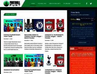 footballpunt.com screenshot