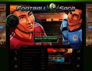 footballsaga.com screenshot