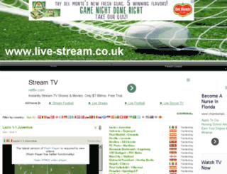 footballscoreslatest.co.uk screenshot