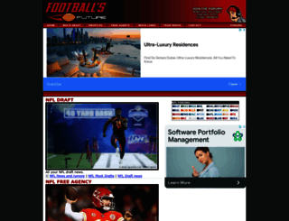 footballsfuture.com screenshot