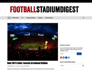 footballstadiumdigest.com screenshot