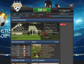 footballsuperstars.com screenshot