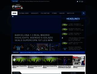 footballtarget.com screenshot