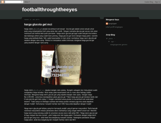 footballthroughtheeyes.blogspot.com screenshot