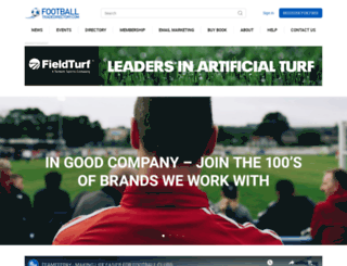 footballtradedirectory.com screenshot