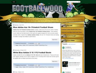 footballwood.blogspot.com screenshot