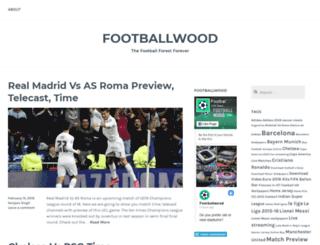 footballwoods.wordpress.com screenshot