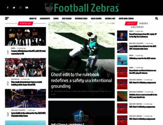 footballzebras.com screenshot