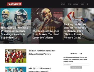 footbasket.com screenshot