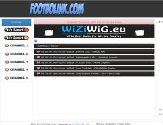 footbolink.com screenshot