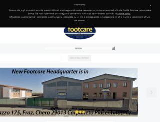 footcare.it screenshot