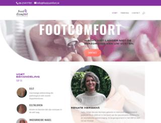 footcomfort.nl screenshot