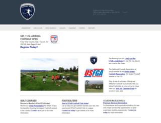 footgolfcalifornia.com screenshot