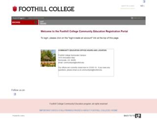 foothill.augusoft.net screenshot