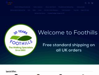 foothills.uk.com screenshot