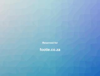 footie.co.za screenshot