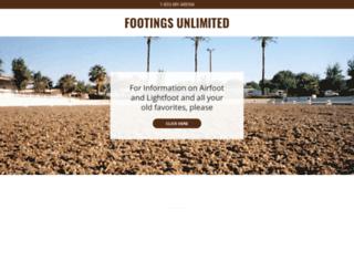 footingsunlimited.com screenshot