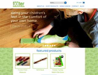 footmeasure.com screenshot