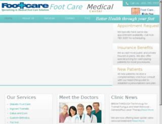 footmedclinic.com screenshot