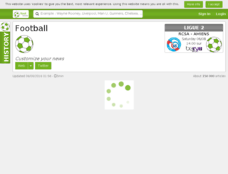 footminute.com screenshot