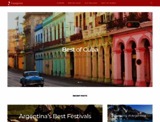 footprinttravelguides.com screenshot