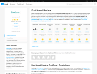 footsmart.knoji.com screenshot