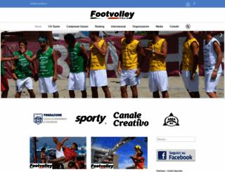 footvolley.it screenshot