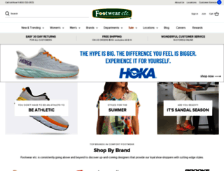 footwearetc.com screenshot