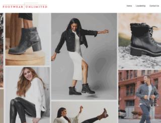 footwearunlimited.com screenshot
