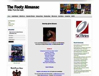 footyalmanac.com.au screenshot