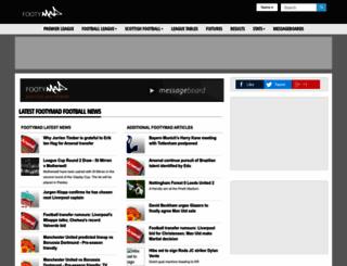 footymad.net screenshot