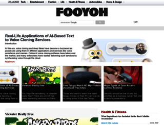 fooyoh.com screenshot